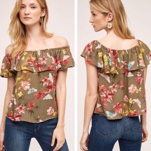 Anthropology Maeve Off the Shoulder Top